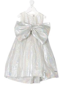 Simonetta платье с крупным бантом 1N1282NB460