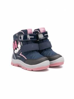 Geox Kids ботинки Minnie™ на липучках B043WC0FU50C4002