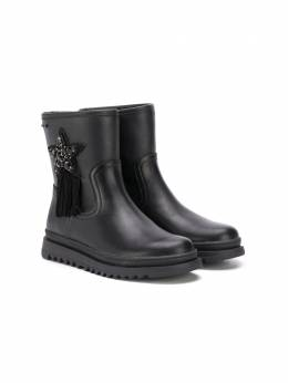 Geox Kids ботинки с нашивкой J047XA000BCC9999