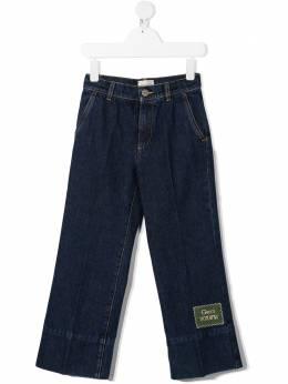 Gucci Kids джинсы с нашивкой Gucci Horama 622858XDBAN