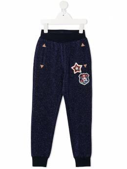 Monnalisa спортивные брюки с блестками 196417AH