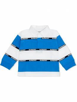 Burberry Kids комплект из рубашки поло и брюк 8032644