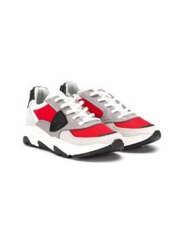 Philippe Model Kids кроссовки в стиле колор-блок EZL0W04B