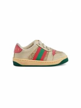 Gucci Kids кроссовки Screener со вставками 626625G1760