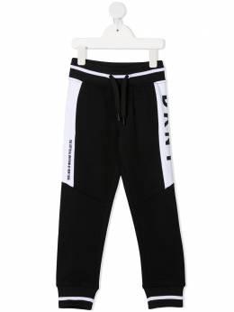 DKNY Kids спортивные брюки с логотипом D24721