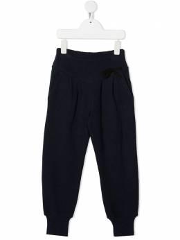 Douuod Kids спортивные брюки с нашивкой-логотипом JP013013