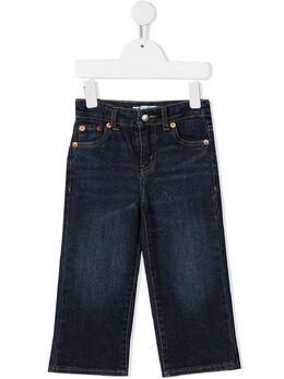Levi's Kids джинсы с эффектом потертости EA931