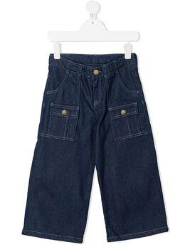 Chloe Kids широкие джинсы с карманами C14638Z10