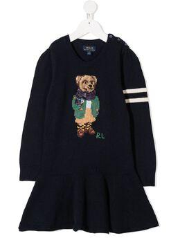 Ralph Lauren Kids платье с принтом 312799958