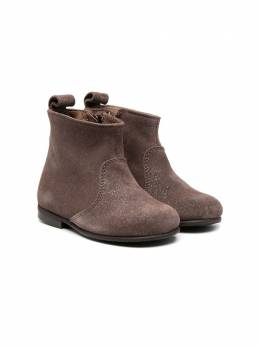 Pepe ботинки с эффектом металлик 1204