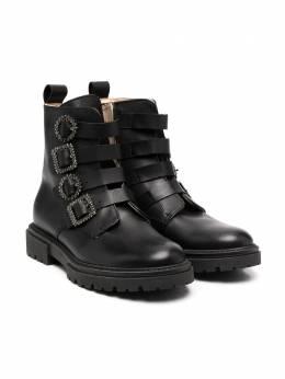 Florens ботинки с пряжками K2345