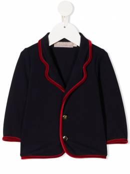 La Stupenderia пиджак с контрастной отделкой TCGH11