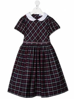 Siola платье в клетку тартан 6VE