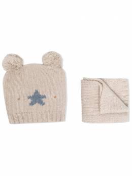 La Stupenderia комплект из шарфа и шапки CP02C