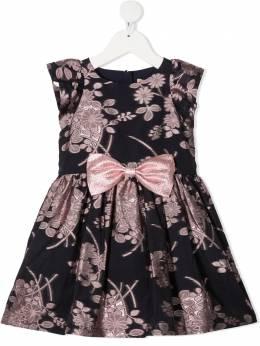 Hucklebones London жаккардовое платье без рукавов AW20801
