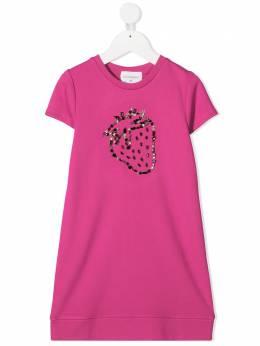 Charabia декорированное платье-футболка S1209649J