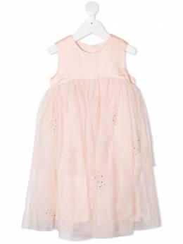 Billieblush ярусное платье из тюля U1261145X