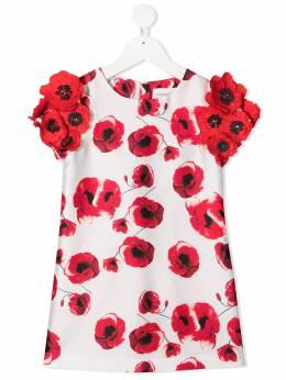 Charabia платье с цветочным принтом S12102
