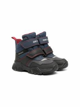Geox Kids непромокаемые ботинки на липучке J04CSC0FUFEC4244