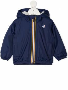 K Way Kids куртка с флисовой подкладкой и капюшоном KW006CQ0B