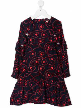 Billieblush платье с принтом и баской U1258685T