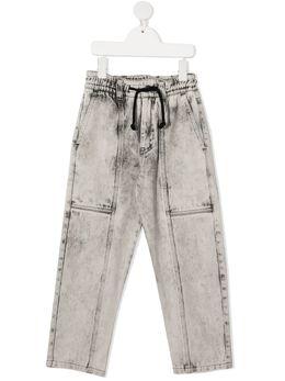 Andorine джинсы с эффектом потертости ADW2036B
