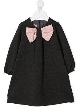 La Stupenderia платье мини с бантом TCAB16