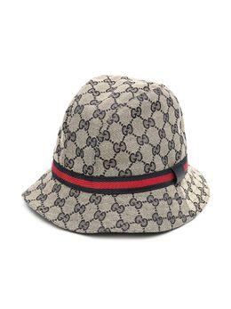 Gucci Kids шляпа-федора Original GG 4117904HD09