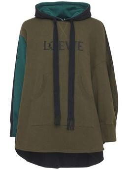 Свитшот Из Хлопокового Джерси Loewe 73I6HC003-OTk5MA2