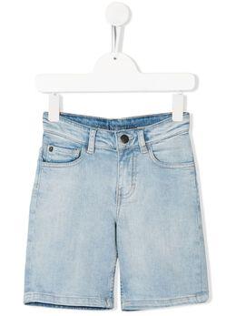 Zadig & Voltaire Kids джинсовые шорты с логотипом X24069Z04