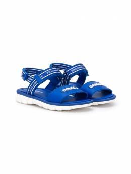 Dolce & Gabbana Kids сандалии на липучках DA0789AX183