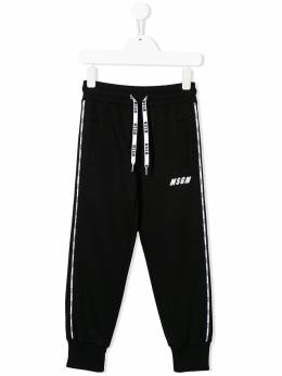 MSGM Kids спортивные брюки с логотипом 022411
