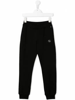 Philipp Plein Junior спортивные брюки Rock с логотипом S20CBJT0308PJO002N