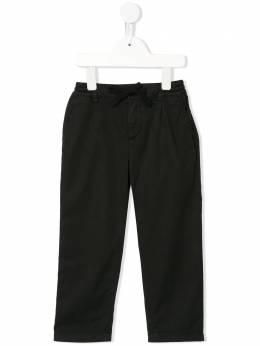 Dolce & Gabbana Kids брюки с вышитым логотипом L43P32G7VQR