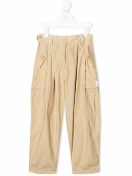 Givenchy Kids брюки кроя слим с карманами карго H14089249