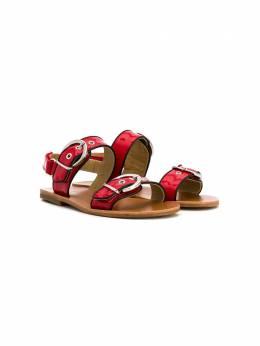 Gallucci Kids сандалии с пряжками J10024HT
