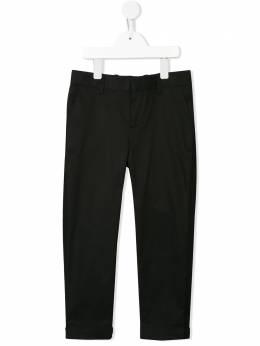 Neil Barrett Kids брюки прямого кроя 024389