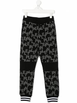 Philipp Plein Junior спортивные брюки с логотипом F19CBJT0266PJO002N