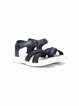 Geox Kids сандалии с открытым носком J020VB0NFEW