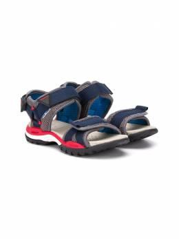 Geox Kids сандалии на липучках с сетчатыми вставками J020RC01411