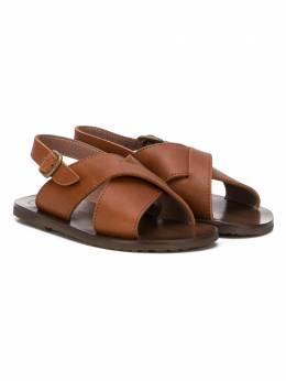 Pepe сандалии с перекрестными ремешками 1241GPN