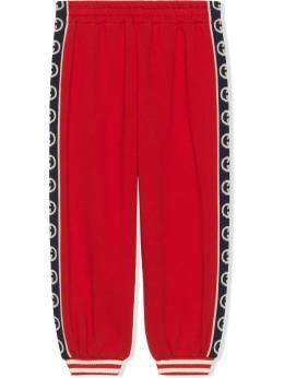 Gucci Kids спортивные брюки с логотипом 591494XJB4G