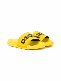 Dsquared2 Kids шлепанцы с логотипом DY0001P2339