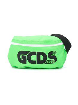 GCDS Kids поясная сумка с логотипом 025921