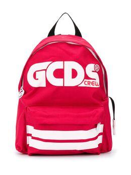 GCDS Kids рюкзак с логотипом Crew 025922