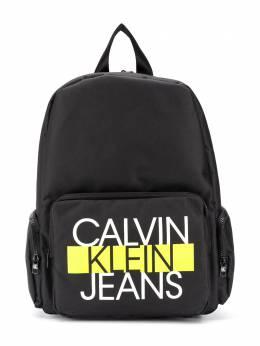 Calvin Klein Kids рюкзак на молнии с логотипом IU0IU00144