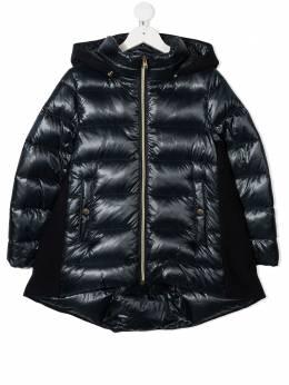 Herno Kids пальто-пуховик со вставками PI0103