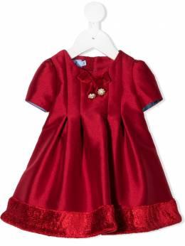 Mi Mi Sol платье со складками MGAB038TS0327