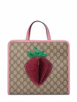 Gucci Kids сумка-тоут GG Supreme 6305899U8RN