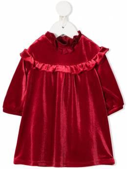 Chloe Kids платье с оборками и длинными рукавами C02269953